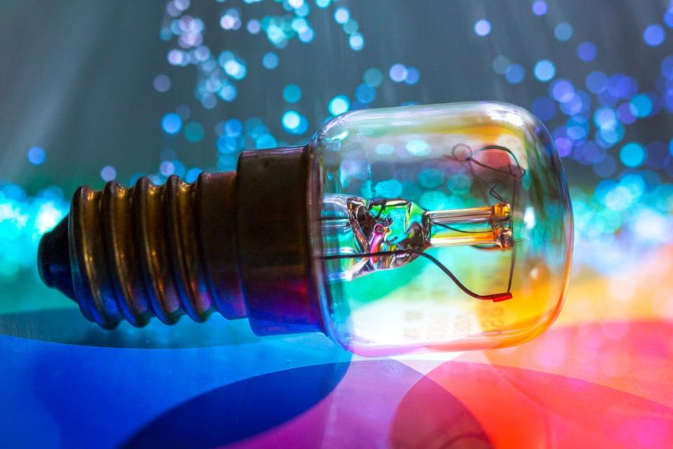 žiarovka, svetlá