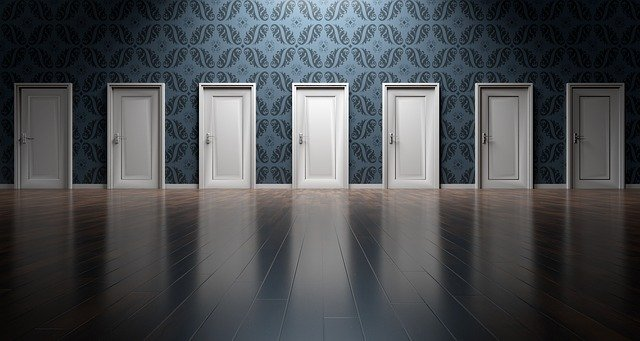 výběr dveř