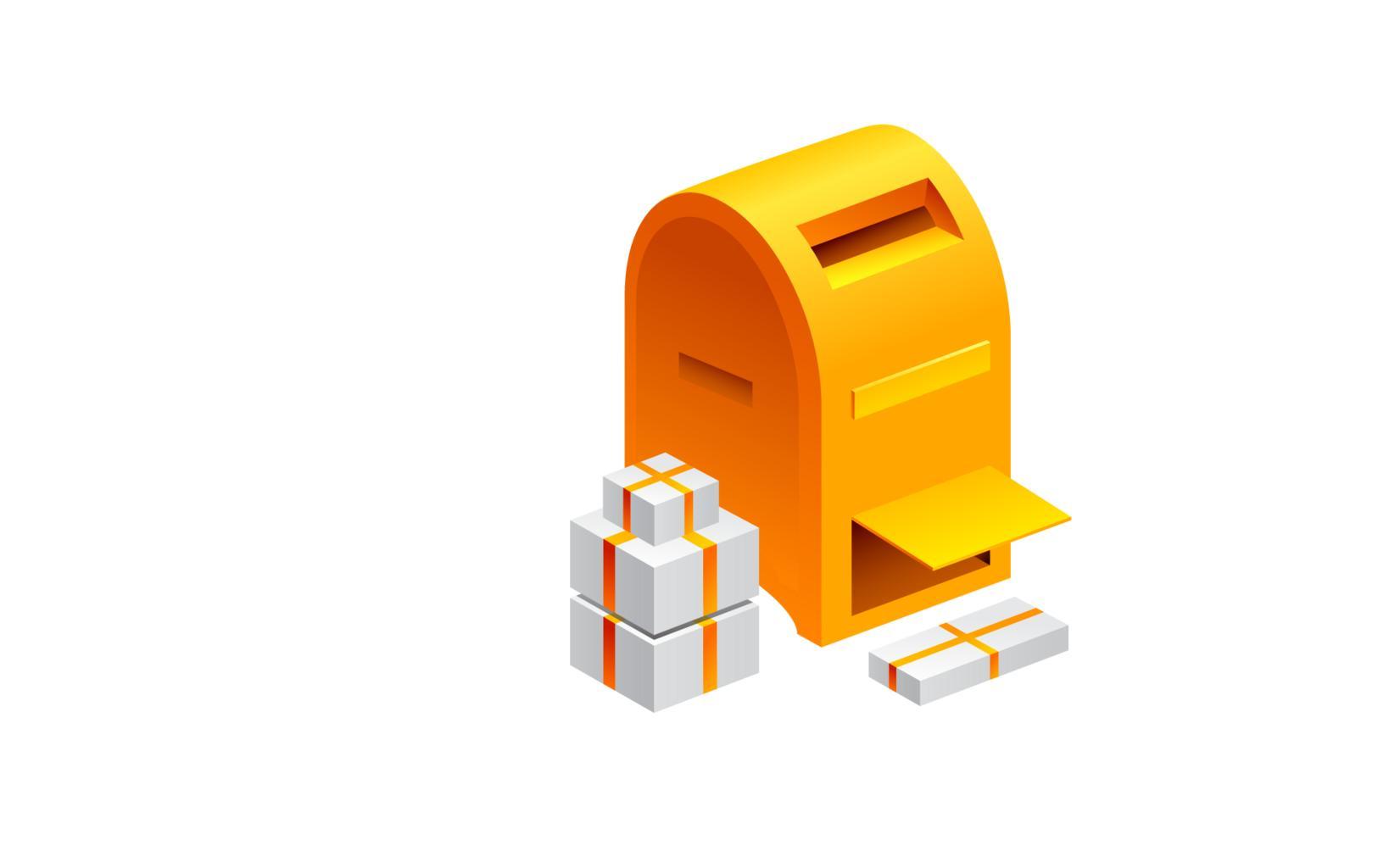 schránka a balíky